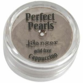 Ranger Perfect Pearls Pigment Powder  Cappuchino.25oz