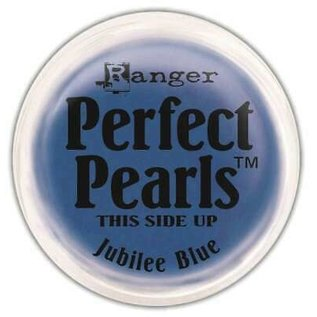 Ranger Perfect Pearls Pigment Powder Jubilee Blue  .25oz