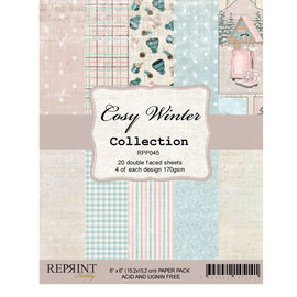 Reprint Reprint Cozy Winter Collection 6x6 Inch Paper Pack