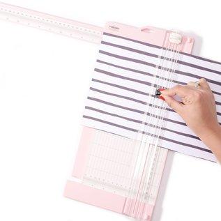 Vaessen Vaessen Creative • Papiersnijder met rilfunctie 15x30,5cm roze