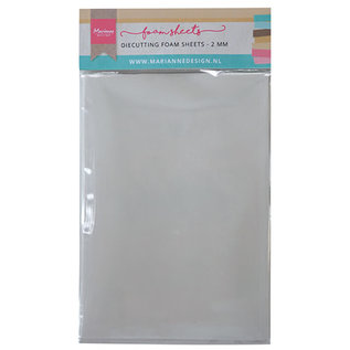 Die cutting foam sheets 2mm Double adhesive