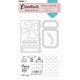 Studio Light Studio Light - Stamp & Die-cut - Essentials - nr.52