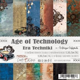 Craft O' Clock Age of technology 6x6