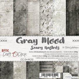 Craft O' Clock Gray mood 6x6