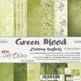 Craft O' Clock Green mood 6x6