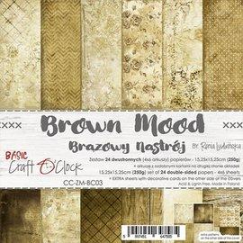 Craft O' Clock Brown mood 6x6