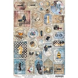 Craft O' Clock Age of Gentleman - Cardboard Die Cuts