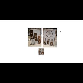 Cart 'n Scrap Art Set Tulpjes 4 stuks