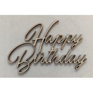 Cart 'n Scrap Art Happy Birthday   5 stuks