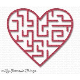 My Favourite Things My Favorite Things Maze Shapes - Heart 6st