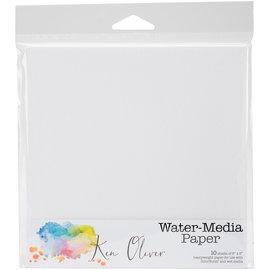"""Ken Oliver Water-Media Paper 10/st-6""""X6"""""""