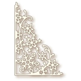 Wild Rose Snowflake corner