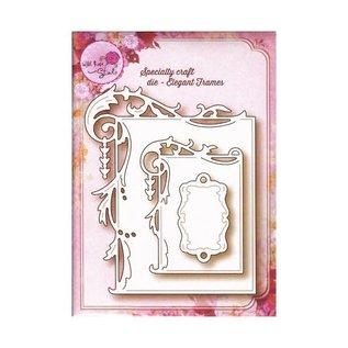 Wild Rose Elegant frames 3st