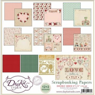 DayKa Trade Love Makes Us Fly 8x8 Inch Paper Pack