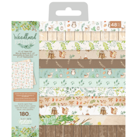 Woodland Friends 6x6 Inch Paper Pad