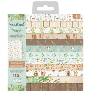 Woodland Friends 6x6 Inch Paper Pad