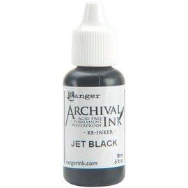 Ranger Archival Pad Reinker .5oz Jet Black