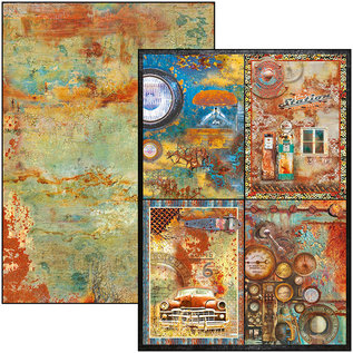 Ciao Bella Collateral Rust Limited Edition dubbelzijdige creatieve pad A4 9 / verpakking