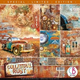 "Ciao Bella Collateral Rust 12""x12"" 12 double sided"