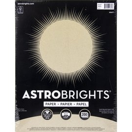 Neenah Cardstock A4 (89gsm) 200st Astrobrights, Kraft