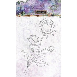 Studio Light Studio Light Clear Stamp Time to Relax 2.0 nr.21  A5