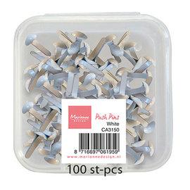 Splitpennen - White 100st 3mm