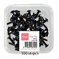 Splitpennen - Black 100st 3mm