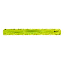 Westcott  Liniaal 30cm flex transparant