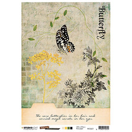 Studio Light JL Rice Paper Butterfly Collection nr.21