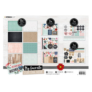 Studio Light SL MF Crafting Book In Love With Chalk nr.97