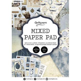 Studio Light SL Mixed Paper Pad Pattern paper Essentials nr.162