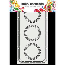 Dutch Doobadoo Card Art Slimline Ticket