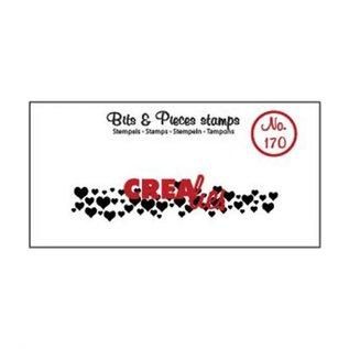 CreaLies Bits & Pieces stempel no.170 Hartjes