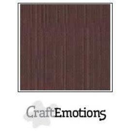 CraftEmotions CraftEmotions linnenkarton KOFFIE 30,0x30,0cm