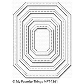 My Favourite Things My Favorite Things  Single Stitch Line Tag-Corner Rectangle Frames