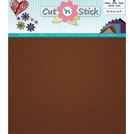 Cut 'n Stick, COPPER 20 x 23 cm , 2 vellen zelfklevende foil