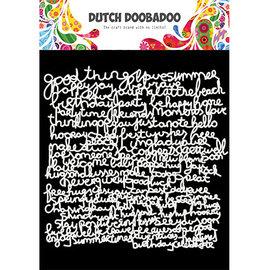 Dutch Doobadoo Mask Art Text