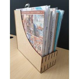 Cart 'n Scrap Art DIY 30x30 papierbak. Zowel voor losse vellen als voor blokken