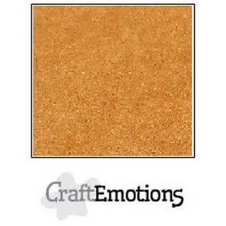 CraftEmotions CraftEmotions karton kraft bruin 10 vel 30,5x30,5cm 220GR