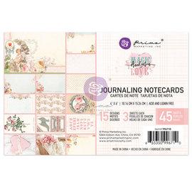 PRIMA MARKETING Prima Marketing Magic Love 4x6 Inch Journaling Cards