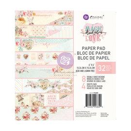 PRIMA MARKETING Prima Marketing Magic Love 6x6 Inch Paper Pad