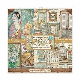 stamperia Stamperia Atelier des Arts 8x8 Inch Paper Pack