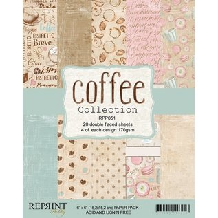 Reprint Reprint Coffee Collection 6x6 Inch Paper Pack