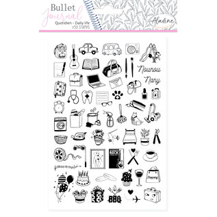 Aladine Bullet Journal Foam Stamps Daily life