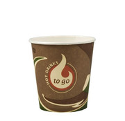 To Go Drinkbekers, Karton 'To Go' 0,1 l _ 6,3 cm