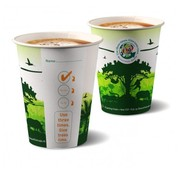 Koffiebeker (Jungle) ''Beautiful Cups'', karton | 180ml - _70,3mm