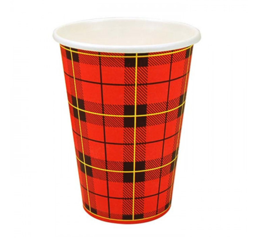 Koffiebekers (Scotty Red), Rood Karton | 180ml - ∅70,3mm