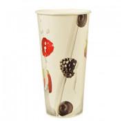 PAPSTAR Milkshake beker, karton 0,5 l _ 9 cm x 16,8 cm 'Berries'