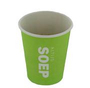 Soepbekers (Altijd soep), Groen Karton   237ml- _80mm