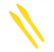STARPAK Messen, PS 17,5 cm geel